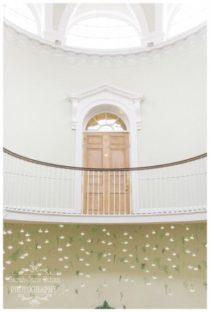 Tim & Simone- Middleton Lodge- Flower Curtain