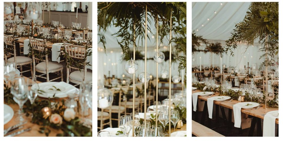 Botanical Wedding Middleton Lodge